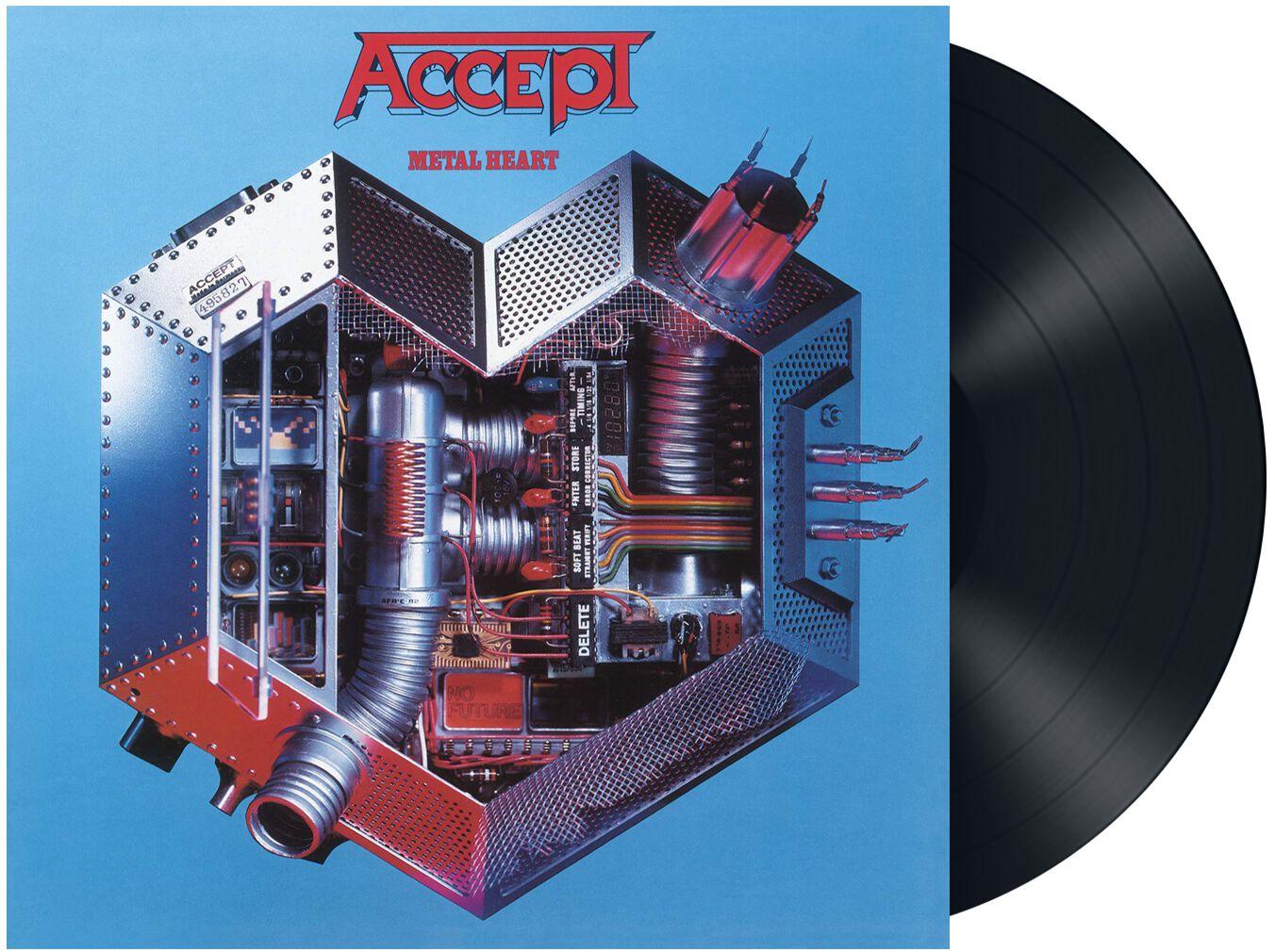 Accept  Metal heart  LP  Standard
