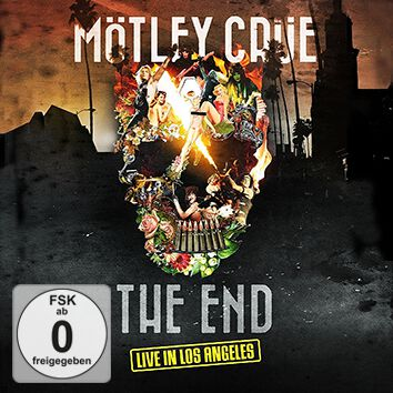 Image of Mötley Crüe The End - Live in Los Angeles Blu-ray & DVD & CD Standard