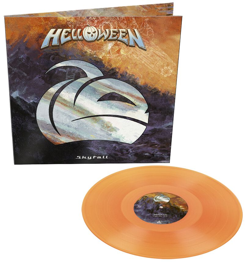 Image of Helloween Skyfall 12 inch-Single orange