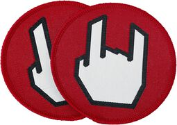 EMP Rockhand Patch 2er Set