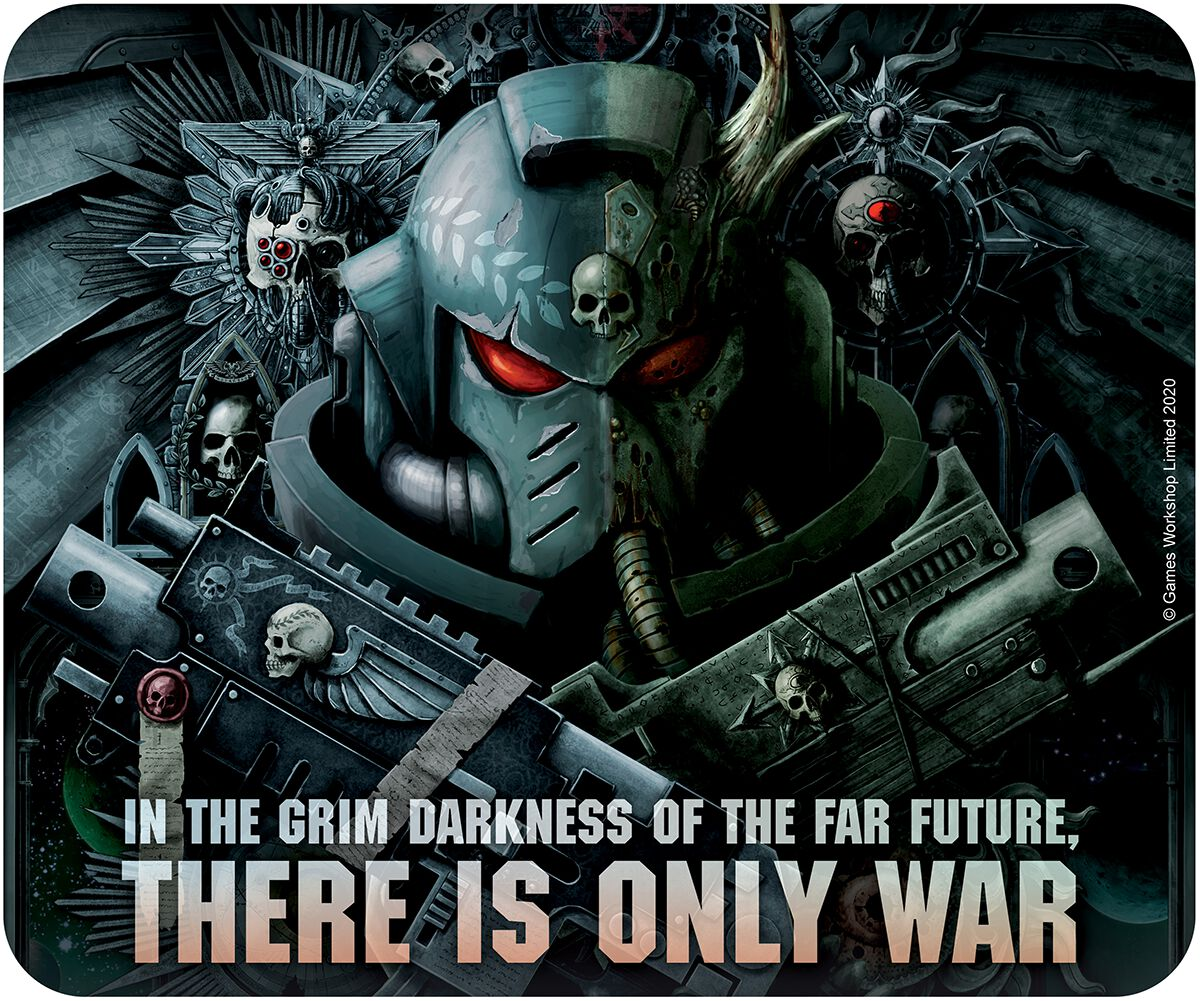 Warhammer 40.000 Dark Imperium  Mouse-Pad  multicolor