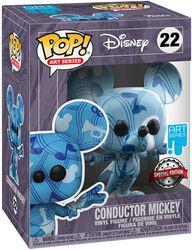 Conductor Mickey (Art Series) Vinyl Figur with Case 22