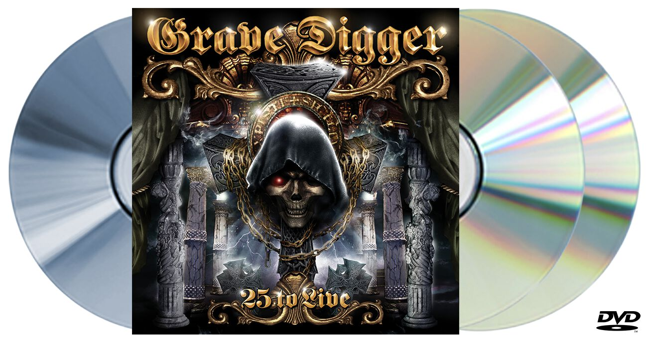 Image of Grave Digger 25 to live 2-CD & DVD Standard