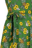 Elsie Pineapple Slice Maxi Dress