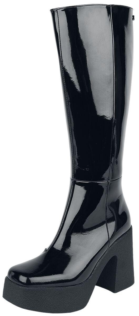 Altercore Clarissa Vegan Stiefel schwarz Clarissa Vegan Black Patent
