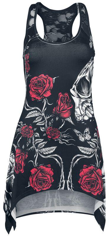 Immortal Love Lace Panel Vest