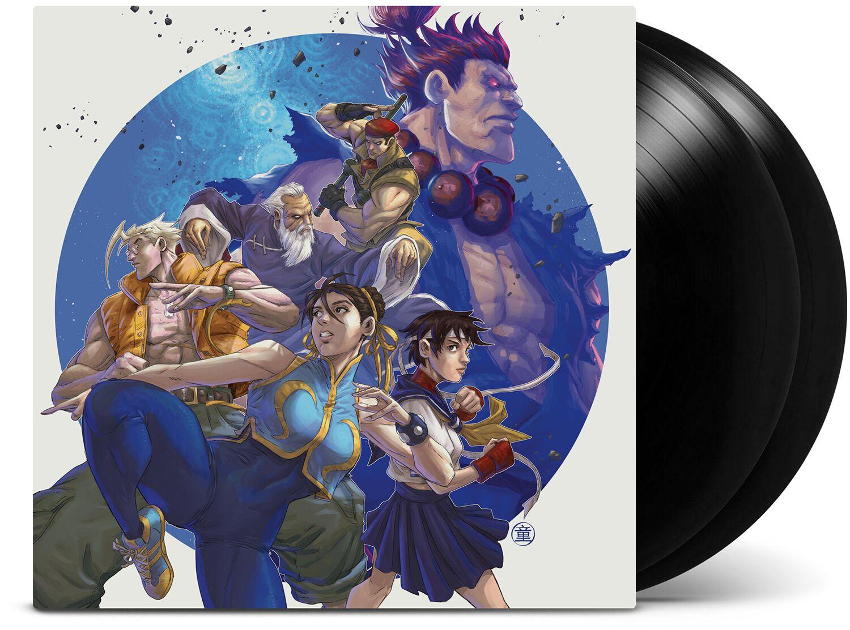 Street Fighter Street Fighter Alpha 2 LP schwarz LMLP81