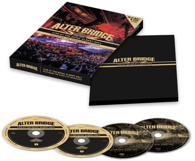 Alter Bridge  Live from the Royal Albert Hall feat. The Parallax Orchestra  2-CD & DVD & Blu-ray  Standard
