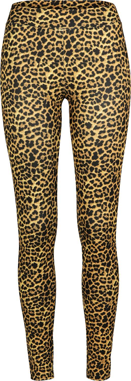 Hosen - Urban Classics Ladies Leopard Leggings Leggings leopard  - Onlineshop EMP