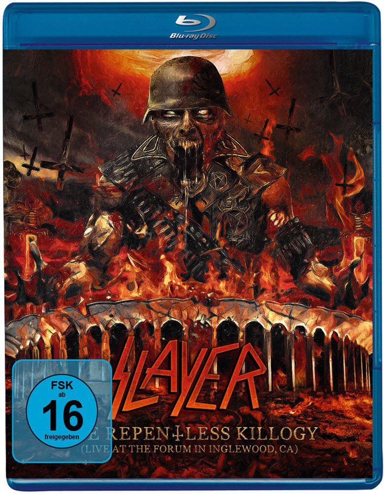 Slayer The repentless killogy (Show only)  Blu-Ray  Standard
