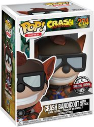 Crash Bandicoot Vinyl Figure 274
