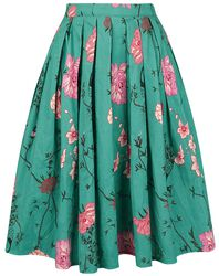 Peacock Baroque Skirt
