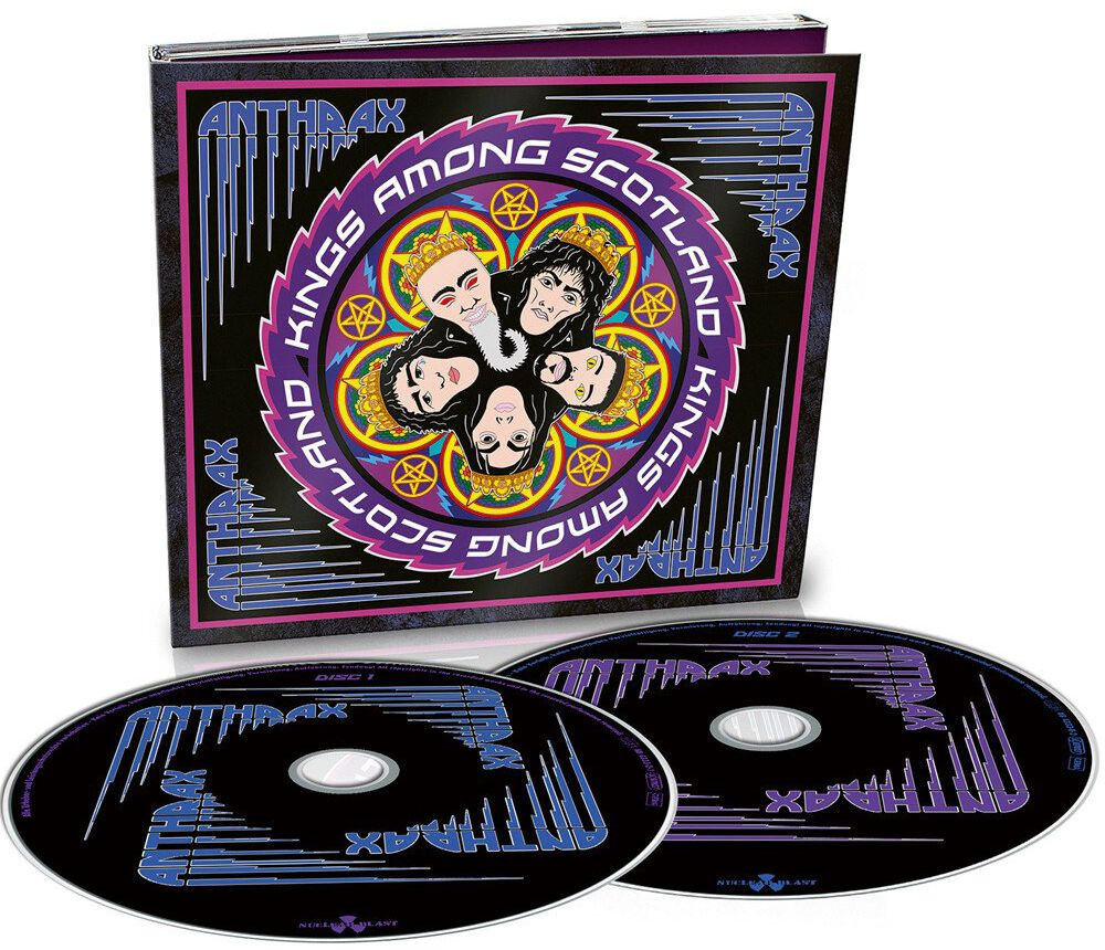 Image of Anthrax Kings among Scotland 2-CD Standard