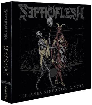 Image of Septicflesh Infernus Sinfonica MMXIX 2-CD & Blu-ray Standard