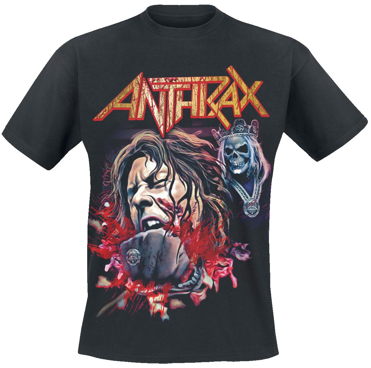 Anthrax - Fist Full Halloween - T-Shirt - black image