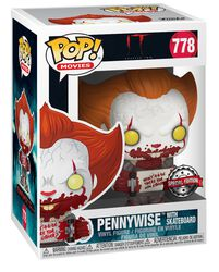 Teil 2 - Pennywise with Skateboard Vinyl Figure 778