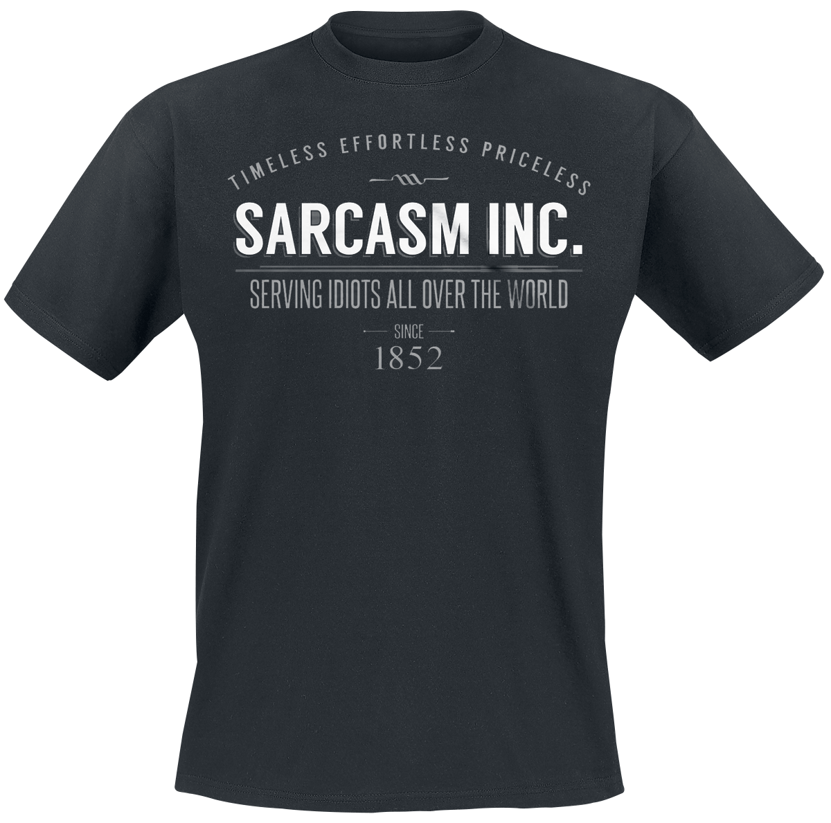 Sarcasm Inc. -  - T-Shirt - black image