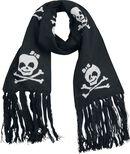 Schal mit lachenden Skulls