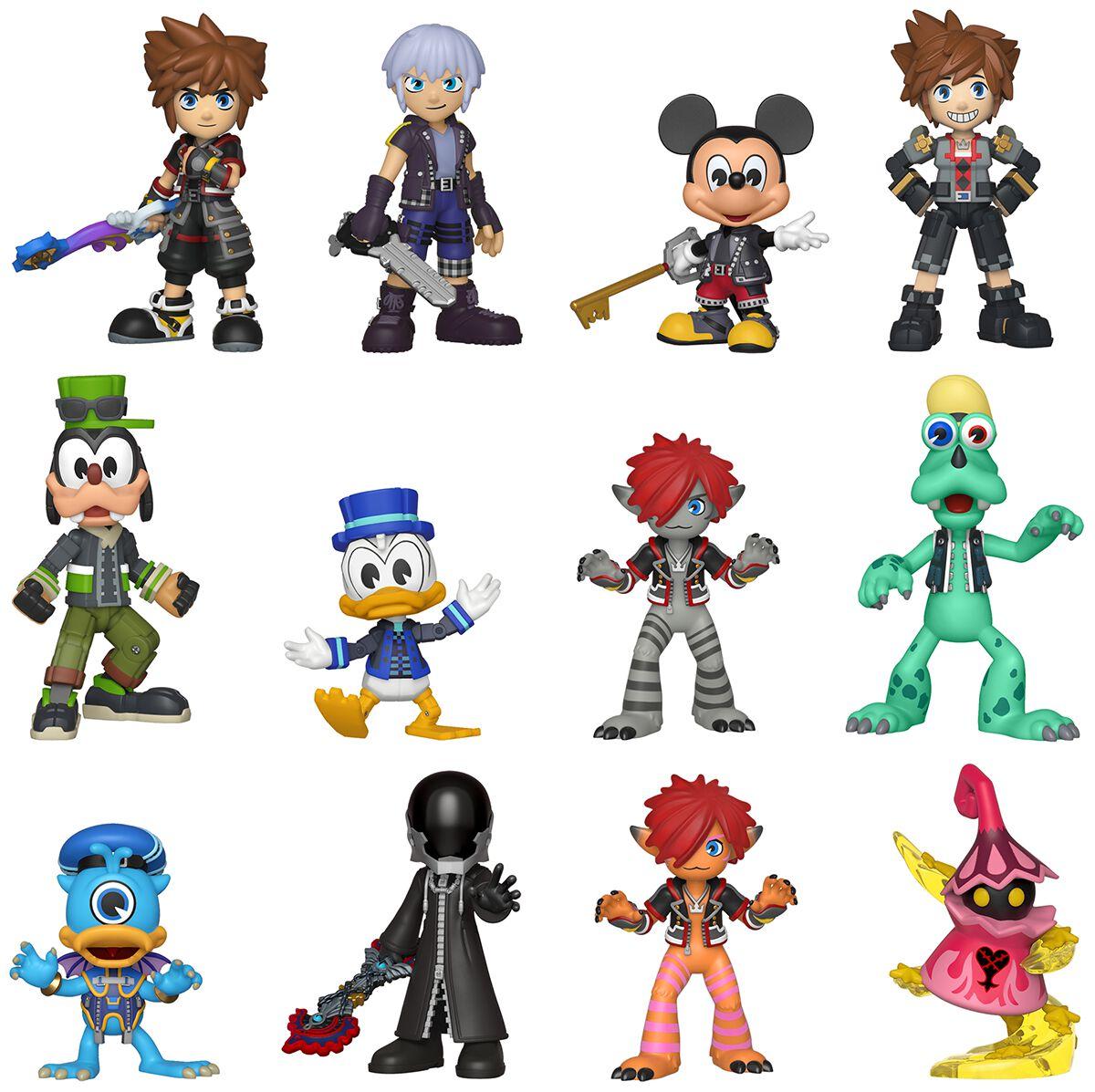 3 - Mystery Mini Blind Box   Kingdom Hearts Sammelfiguren   EMP