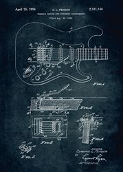 Gitarre Displate (Fender)