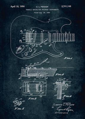 Gitarre Displate (Fender)