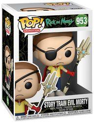 Story Train Evil Morty Vinyl Figur 953
