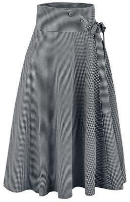 Elizabeth Curved Waist Bow Skirt