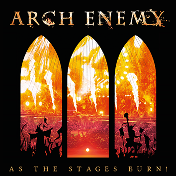 Image of Arch Enemy As the stages burn! CD & DVD Standard