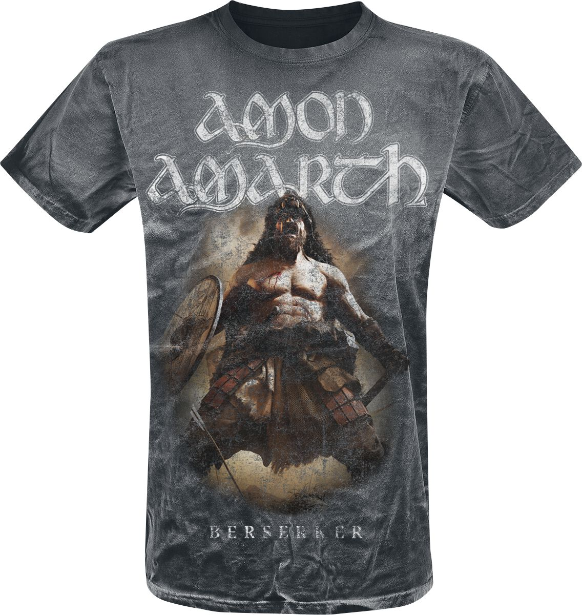 Image of Amon Amarth Berserker T-Shirt dunkelgrau