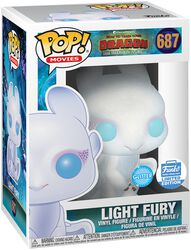 3 - Light Fury (Glitter) (Funko Shop Europe) Vinyl Figure 687