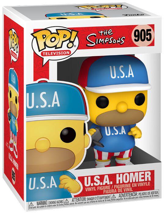 Die Simpsons USA Homer Vinyl Figur 905 powered by EMP