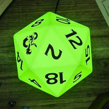 D20 Würfel - Lampe