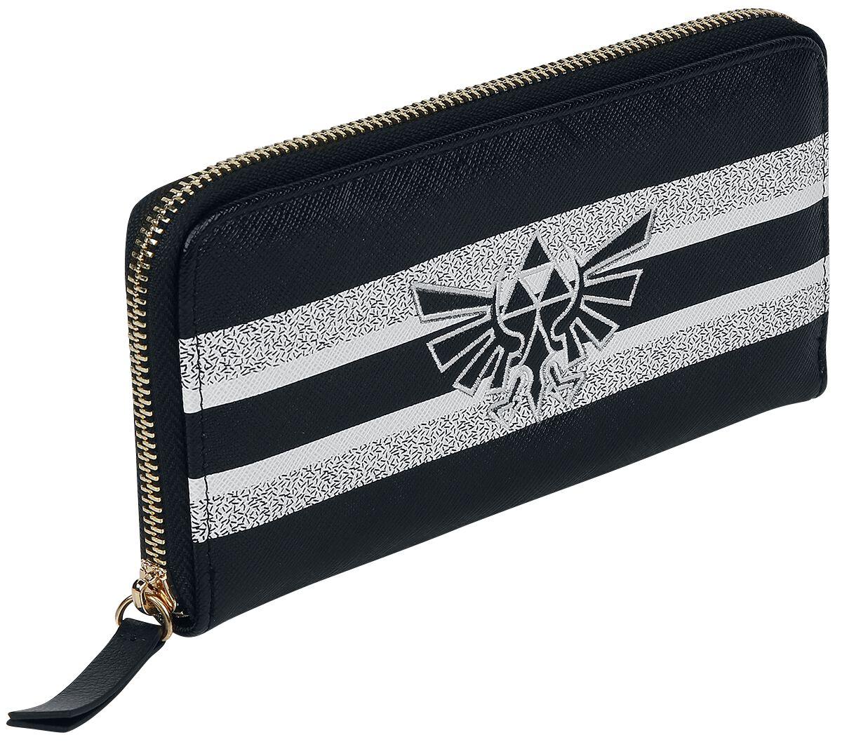 The Legend Of Zelda Triforce Geldbörse schwarz weiß GW016070ZEL