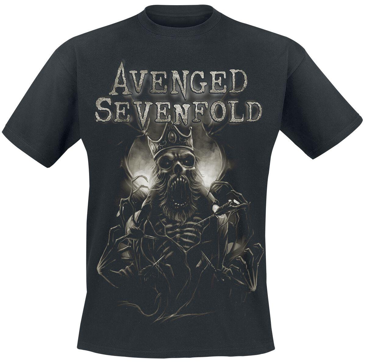 Image of Avenged Sevenfold King T-Shirt schwarz