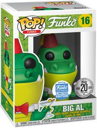 Fantastik Plastik - Big Al (Funko Shop Europe) Vinyl Figure 16