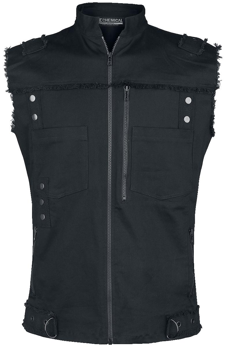 Chemical Black - Rafi Vest - Weste - schwarz