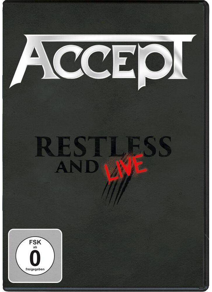 Accept  Restless and live  DVD  Standard