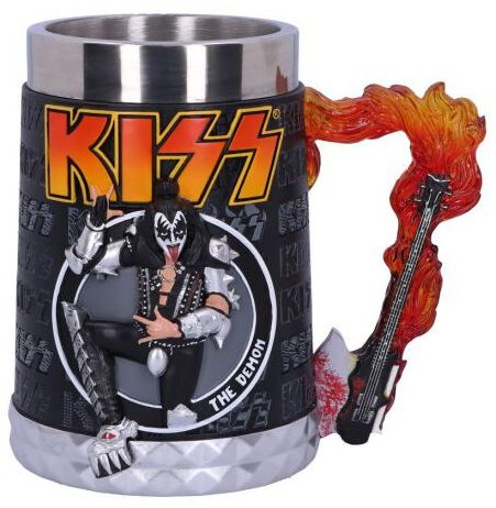 Image of Kiss The Demon Bierkrug multicolor