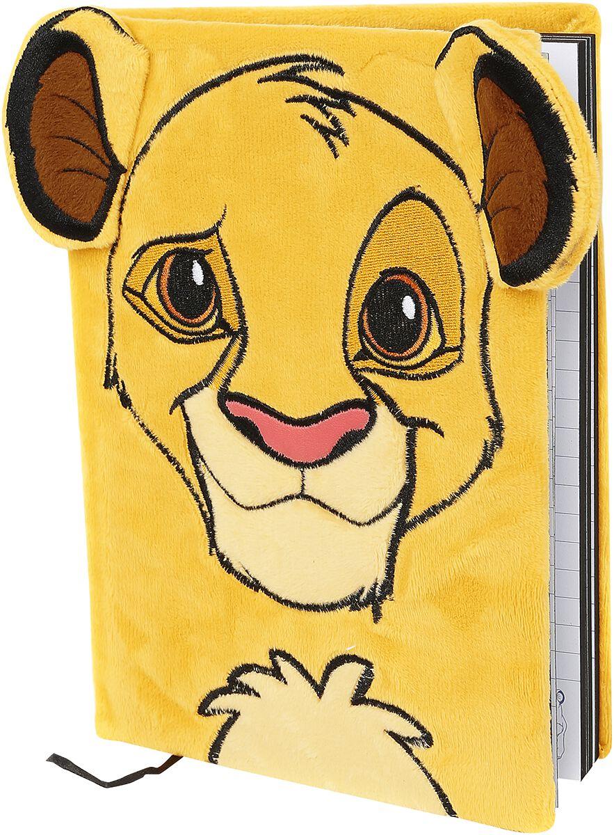 Der König der Löwen  Simba  Notizbuch  gelb