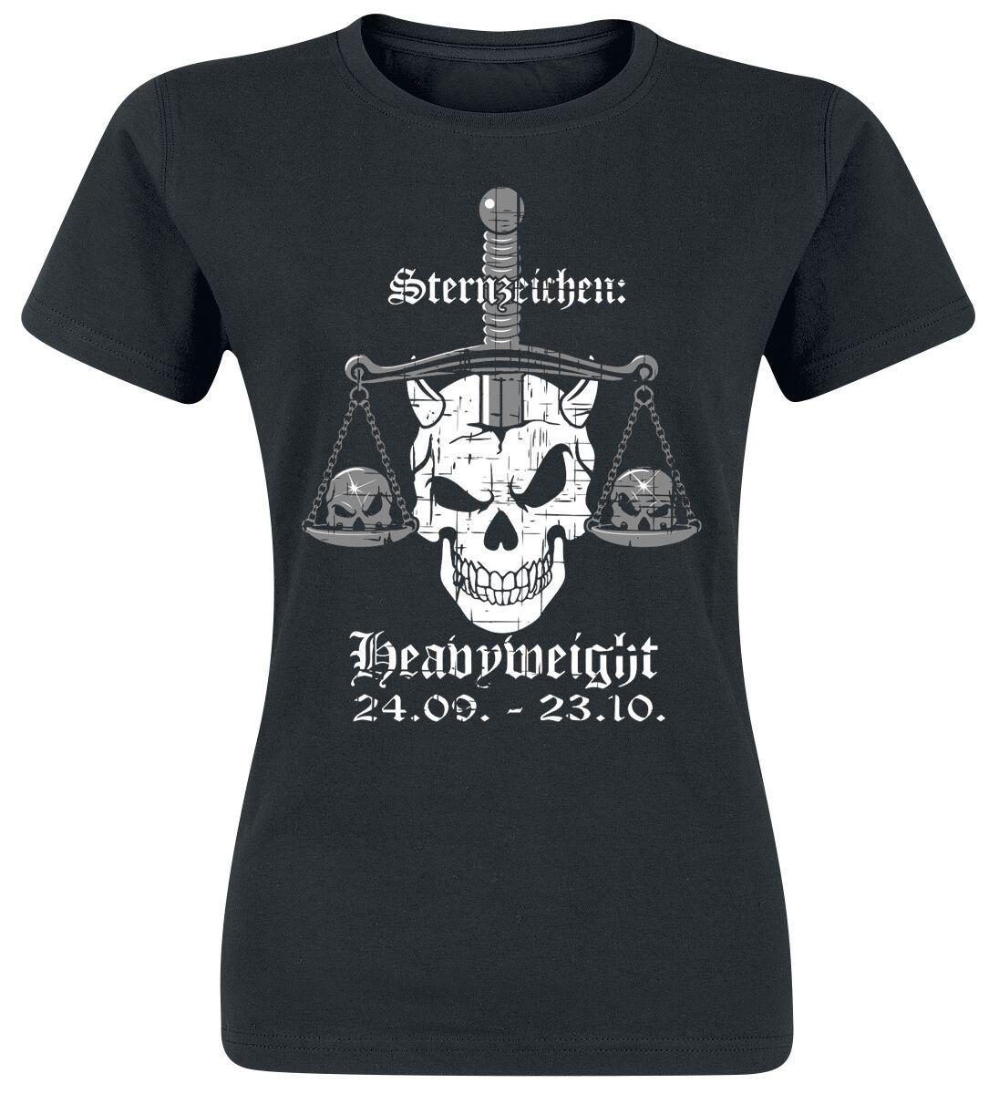 Heavyweight Waage T-Shirt schwarz POD - Gildan 64000L - 7044