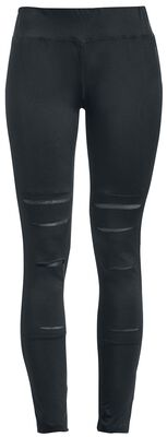 Leggings With Insert Lace