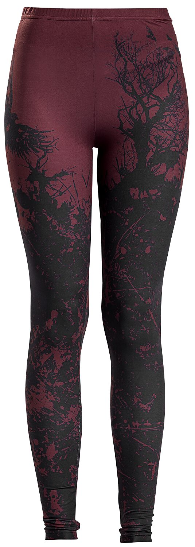Black Premium by EMP Built For Comfort Leggings black red