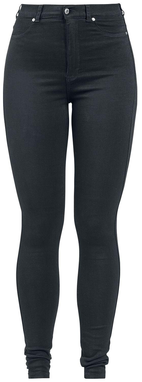 Hosen für Frauen - Dr. Denim Solitaire Girl Jeans schwarz  - Onlineshop EMP