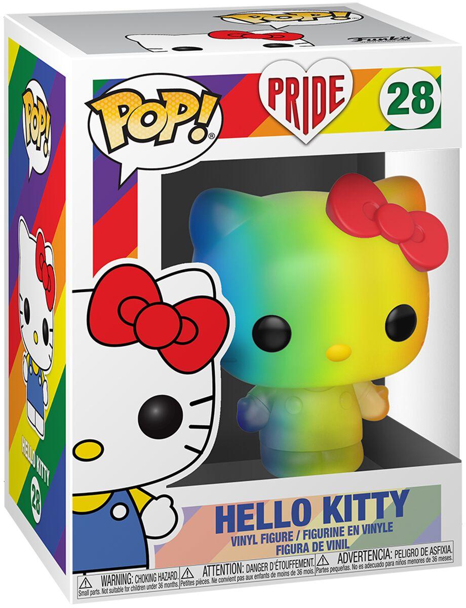 Hello Kitty Pride 2020 - Hello Kitty (Rainbow) Vinyl Figur 28 Funko Pop! multicolor 49843