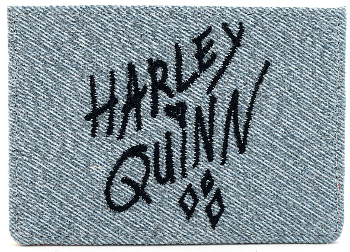 Image of Birds Of Prey Loungefly - Harley Quinn Card Holder multicolor