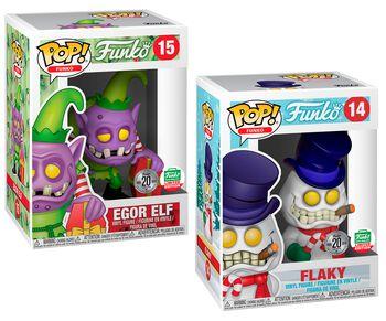 Fantastik Plastik - Flaky and Egor Elf (2 Pack) (Funko Shop Europe) 14+15