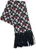 Schal mit Kirschen & Skulls