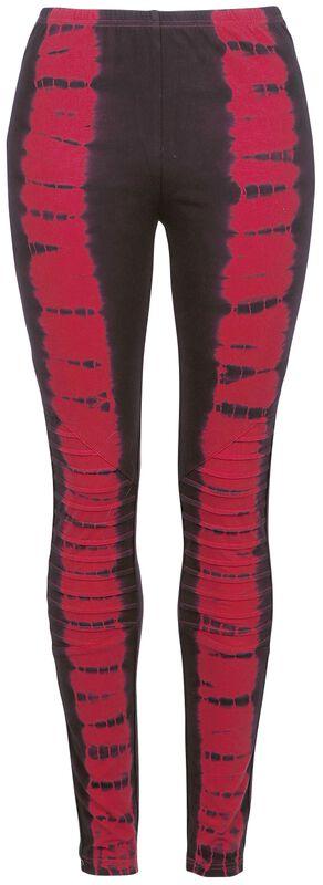 Leggings im Batik-Look