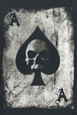 Pik Ace Skullcard
