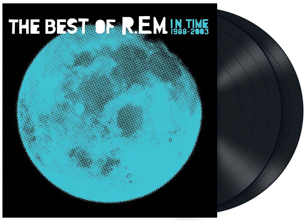 R.E.M. In time - The best of R.E.M. 1988 - 2003  LP  schwarz